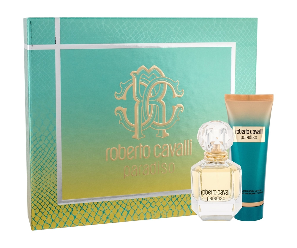 Roberto Cavalli Paradiso Eau De Parfum 50ml Combo Edp 50 Ml + Body Lotion 75 Ml