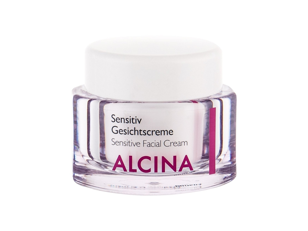 Alcina Sensitive Facial Cream - Zklidnujici Pletovy Krem 50ml