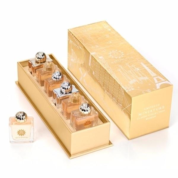 Amouage Mini Set Classic Collection Eau De Parfum 45ml Combo: 6x7,5 Ml Edp Gold + Dia + Ciel + Reflection + Jubilation Xxv + Beloved