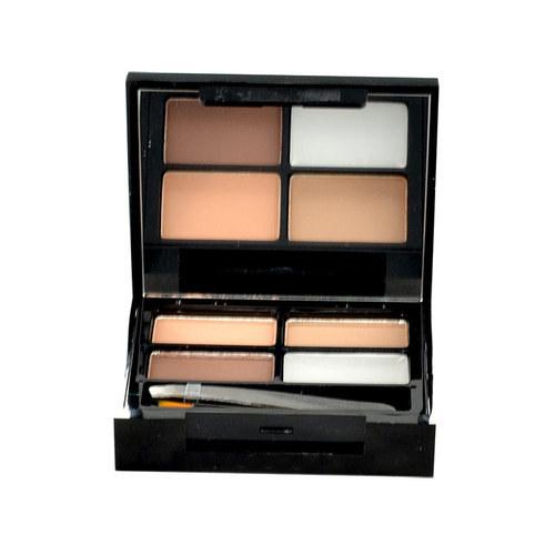 Makeup Revolution London Focus & Fix Eyebrow Shaping Kit For Eyebrows 5,8gr Ligh oμορφια   μακιγιάζ   μακιγιάζ προσώπου   σετ μακιγιάζ