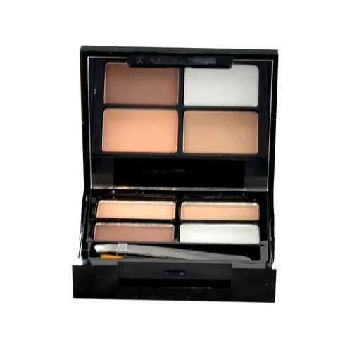 Makeup Revolution London Focus & Fix Eyebrow Shaping Kit For Eyebrows 5,8gr Light Medium