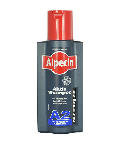 Alpecin Active Shampoo A2 Shampoo 250ml (Oily Hair - Anti Hair Loss)