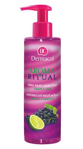 Dermacol Aroma Ritual Liquid Soap Grape & Lime 250ml oμορφια   σώμα   καθαρισμός σώματος