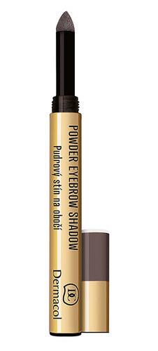 Dermacol Powder Eyebrow Shadow Eyebrow Pencil 1gr 3 oμορφια   μακιγιάζ   μακιγιάζ ματιών   μολύβια φρυδιών