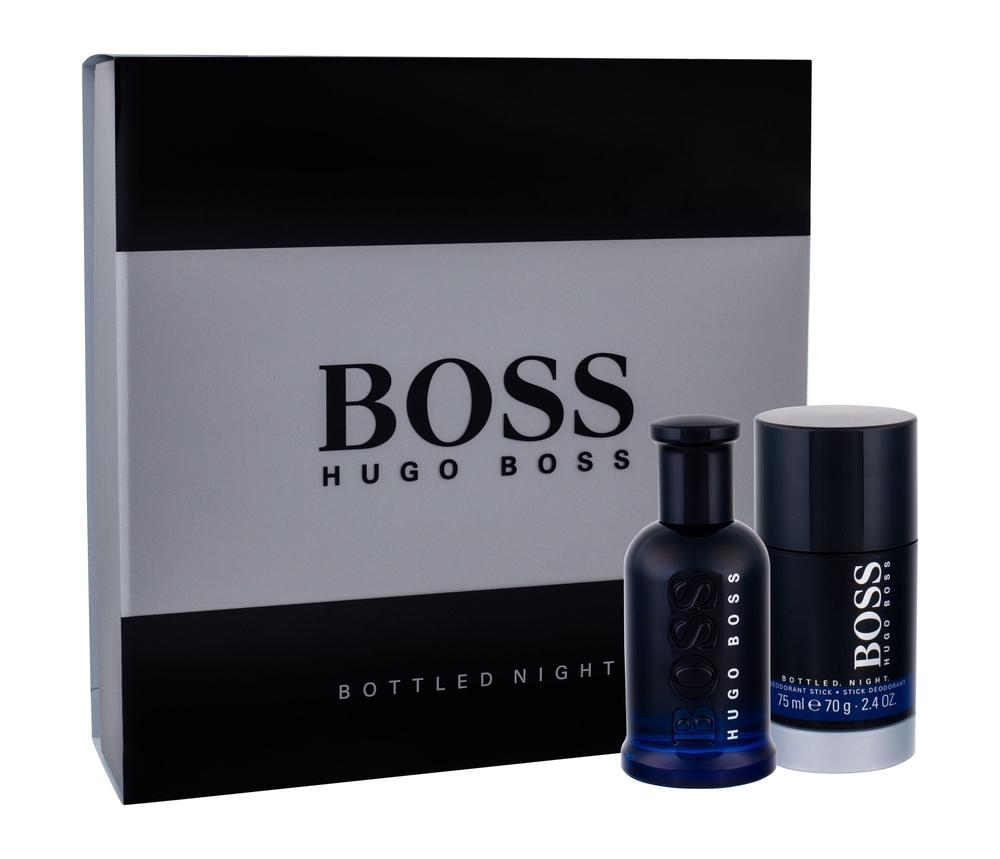 Hugo Boss Boss Bottled Night Eau De Toilette 50ml Combo: Edt 50 Ml + Deostick 75 Ml
