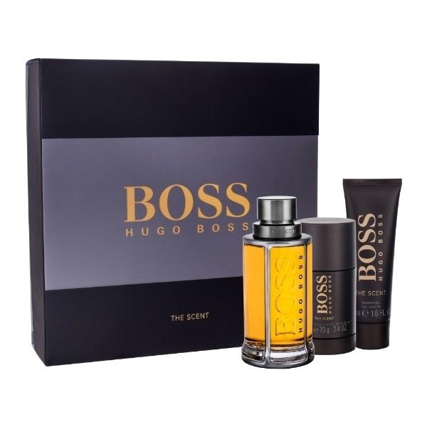Hugo Boss Boss The Scent Eau De Toilette 100ml Combo: Edt 100ml + 50ml Shower Gel + 75ml Deo Stick
