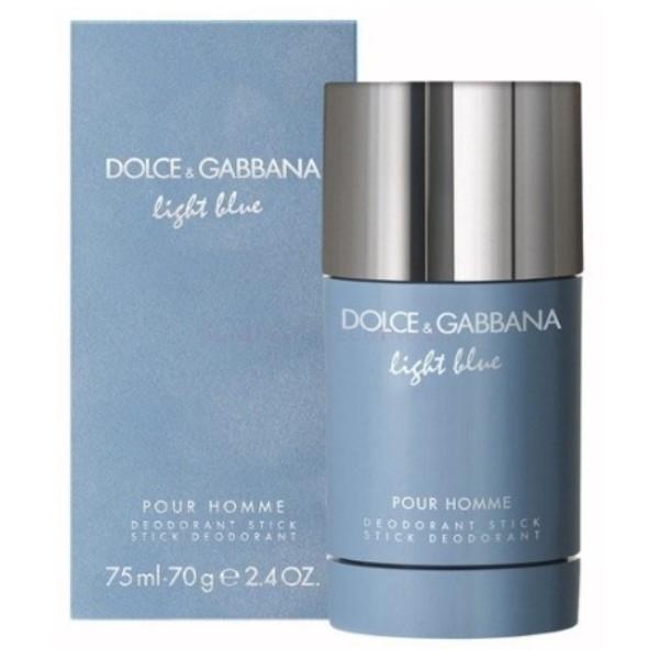 Dolce&gabbana Light Blue Pour Homme Deodorant 75ml Aluminum Free (Deostick)