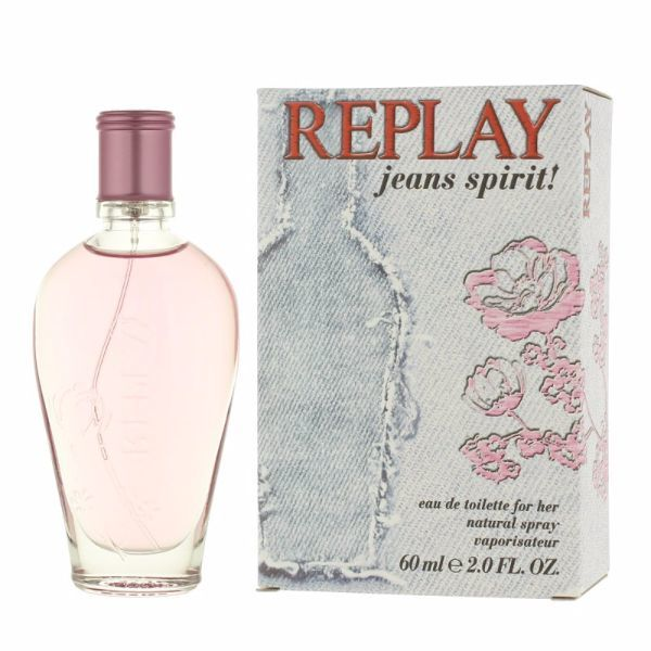 Replay Jeans Spirit! For Her Eau De Toilette 60ml