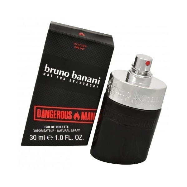 Bruno Banani Dangerous Man Eau De Toilette 30ml