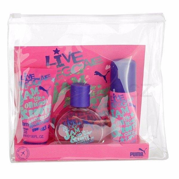 Puma Jam Woman Eau De Toilette 40ml & 50ml Shower Gel & 50ml Deodorant