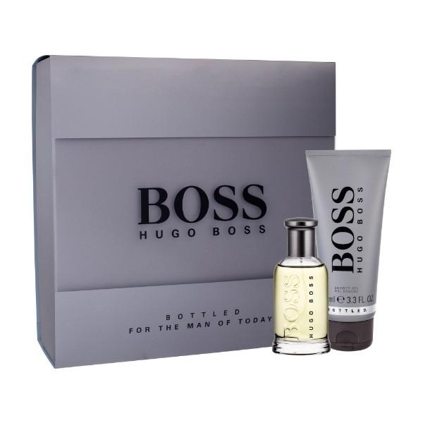 Hugo Boss Boss Bottled Eau De Toilette 50ml Combo: Edt 50 Ml + 100 Ml Shower Gel
