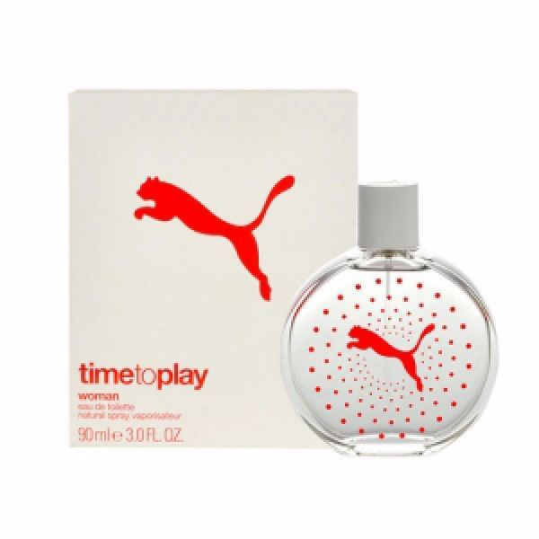 Puma Time To Play Woman Eau De Toilette 90ml
