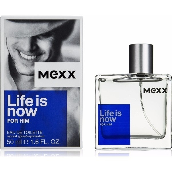 Mexx Life Is Now For Him Eau De Toilette 50ml