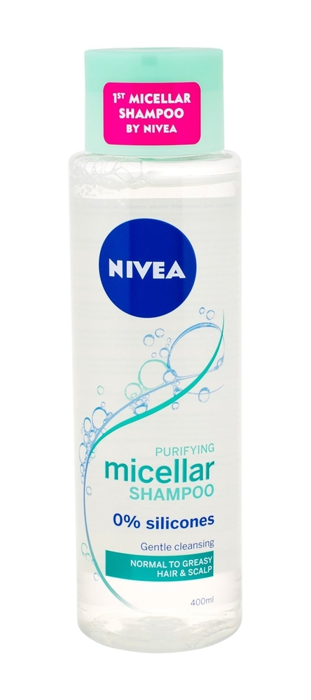 Nivea Micellar Shampoo Purifying Shampoo 400ml (Oily Hair - Normal Hair)
