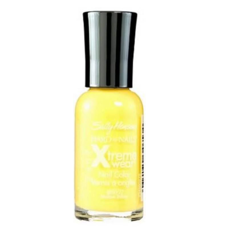 Sally Hansen Hard As Nails Xtreme Wear Nail Color 11.8ml 360 Mellow Yellow oμορφια   μακιγιάζ   προϊόντα νυχιών   βερνίκια νυχιών