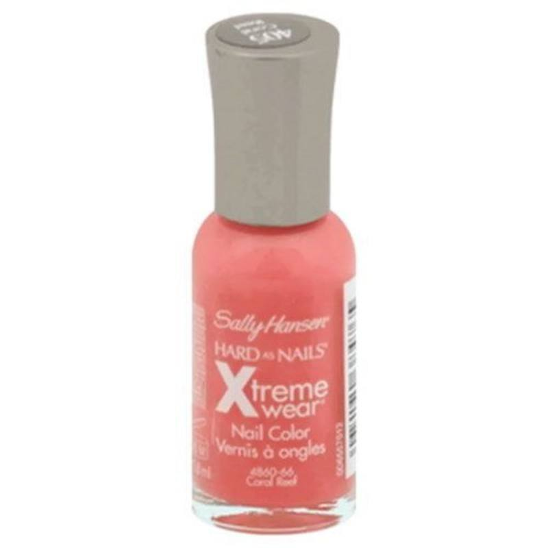 Sally Hansen Hard As Nails Xtreme Wear Nail Color 11.8ml 405 Coral Reef