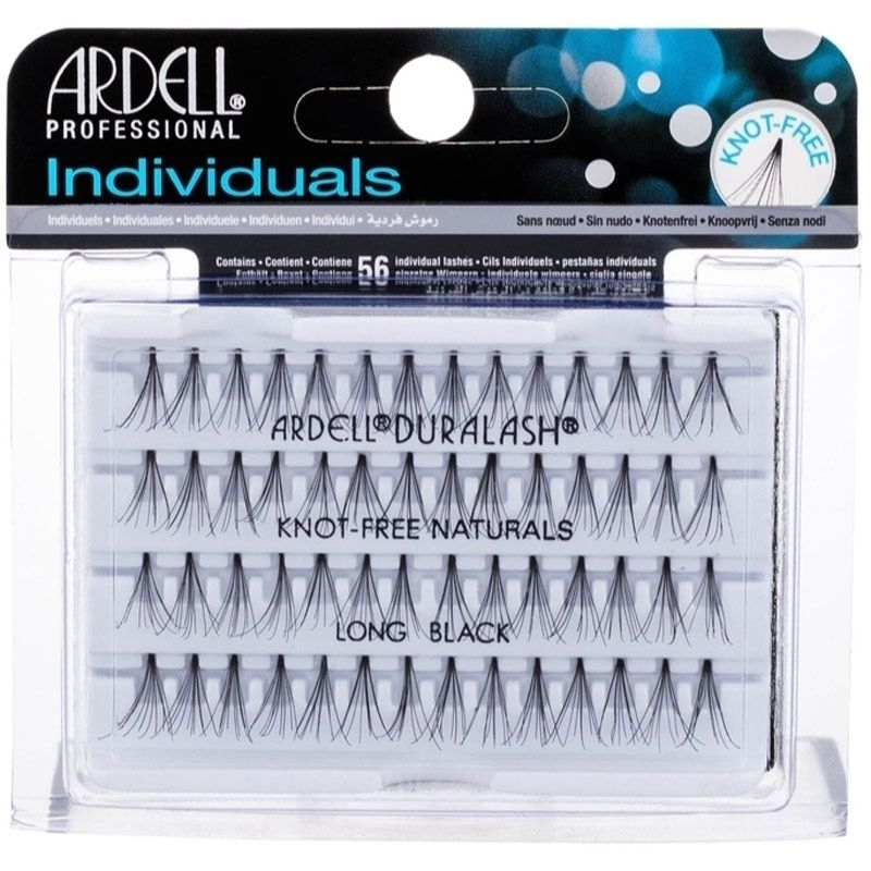 Ardell 3d Individuals Duralash Knot-free False Eyelashes 56pc Long Black