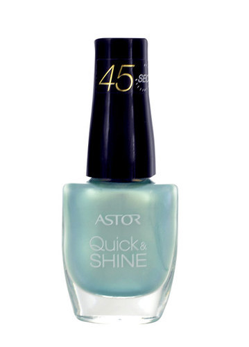 Astor Quick & Shine Nail Polish 8ml 601 Alluring Blue oμορφια   μακιγιάζ   προϊόντα νυχιών   βερνίκια νυχιών