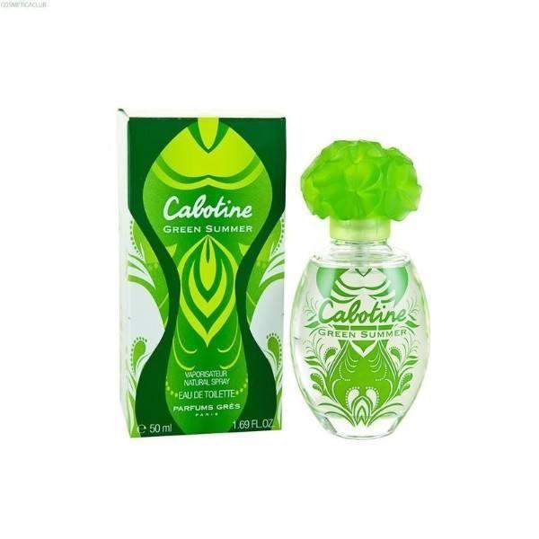 Gres Cabotine Green Summer Eau De Toilette 50ml