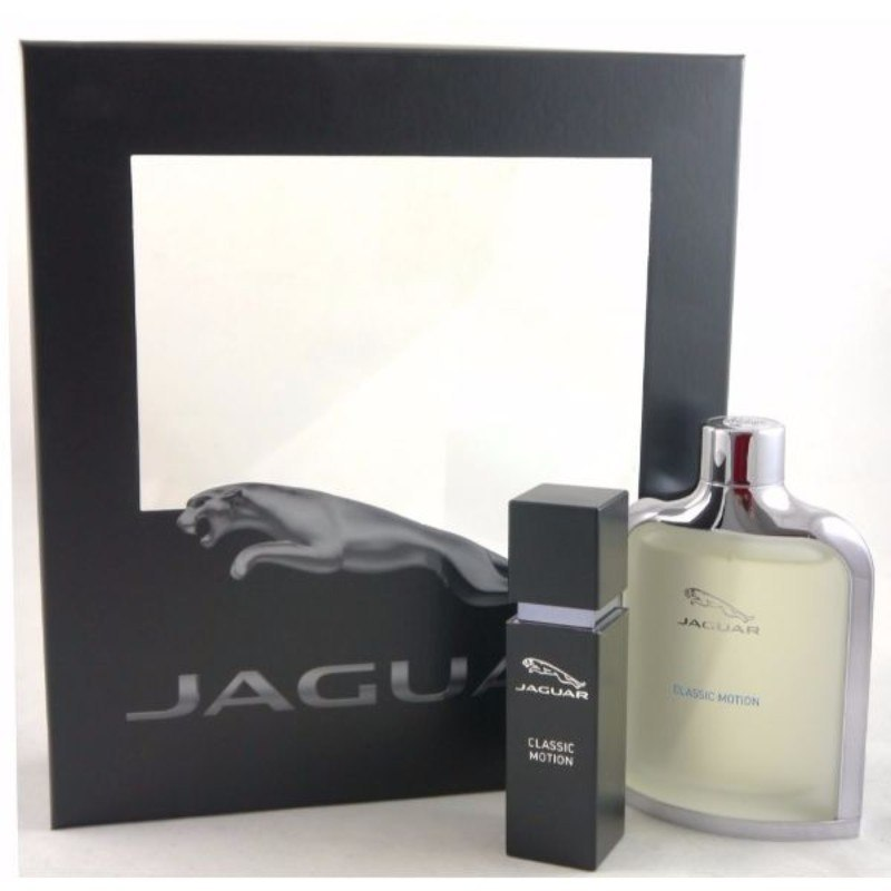 Jaguar Classic Motion Gift Set Eau De Toilette 100ml And Classic Motion Eau De Toilette 15ml