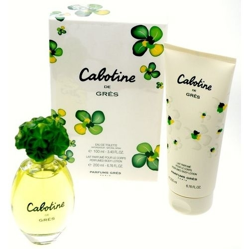 Gres Cabotine Eau De Toilette 100ml Combo: Edt 100ml + 200ml Body Lotion