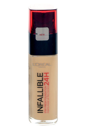 L'OREAL Infallible 24H Foundation dlugotrwaly 125 Natural Rose 30ml