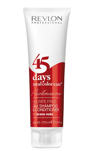 Revlonissimo 45 Days 2in1 Shampoo & Conditioner For Brave Reds 275ml