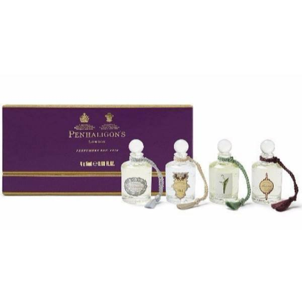 Penhaligon's Fragrance Collection Eau De Parfum 4x5ml - Set Eau De Parfum Artemisia 5ml & Eau De Parfum Malabah 5ml & Eau De Parfum Ellenisia 5ml & Eau De Toilette Lily Of The Valley 5ml