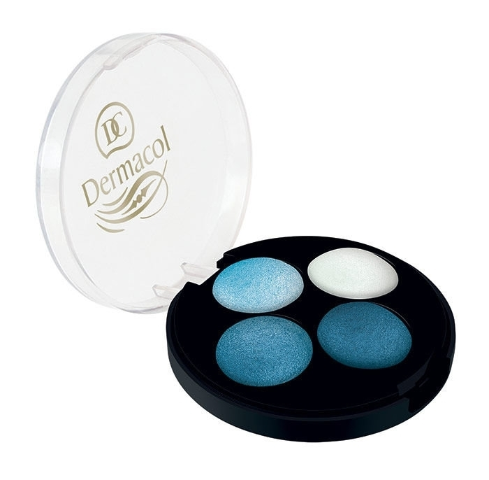 Dermacol Quattro Baked Eye Shadow 5G 2 oμορφια   μακιγιάζ   μακιγιάζ ματιών   σκιές ματιών