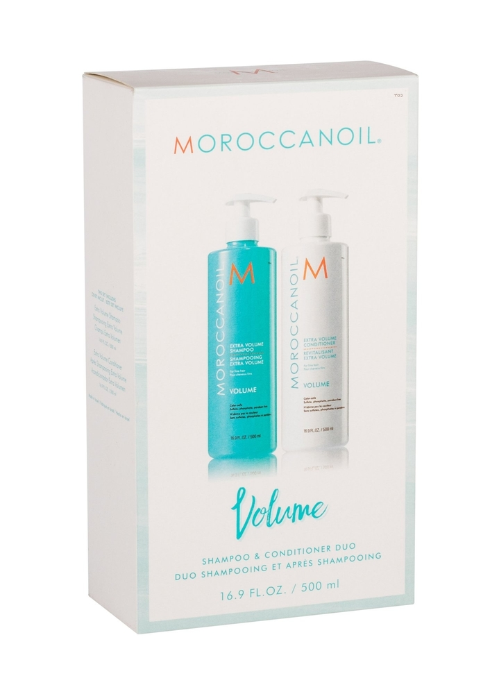 Moroccanoil Volume Shampoo 500ml - Set (Colored Hair - Fine Hair)