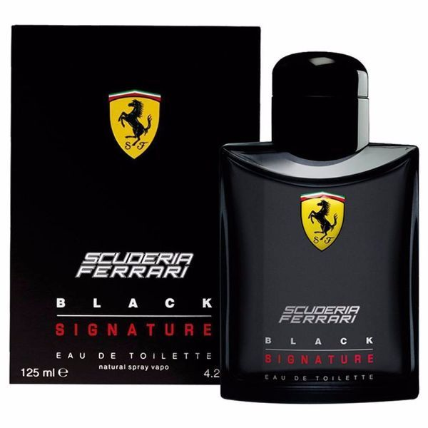 FERRARI Scuderia Black Signature EDT 125ml