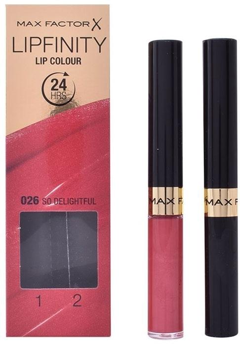 Max Factor Lipfinity 24hrs Lipstick 4,2gr 026 So Delightful (Glossy)
