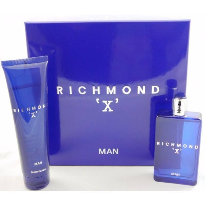 John Richmond X Man Gift Set Eau De Toilette 75ml & Shower Gel 150ml