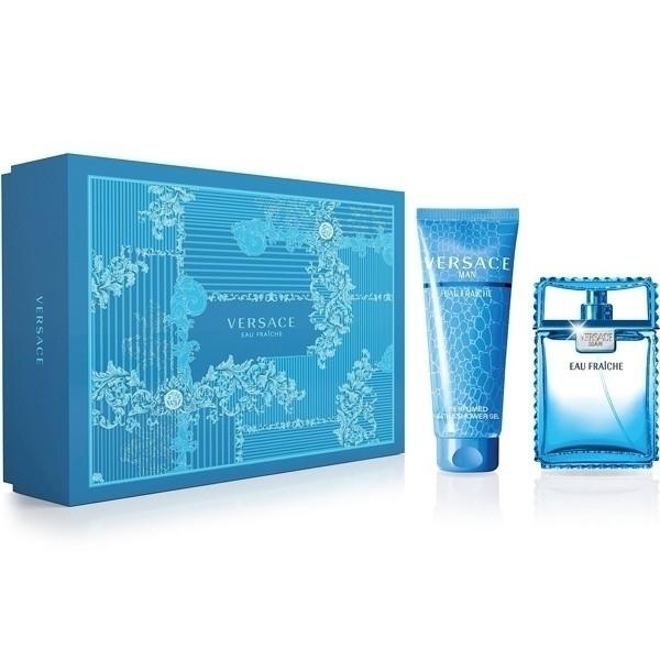 Versace Man Eau Fraiche Eau De Toilette 100ml Combo: Edt 100ml + 150ml Shower Gel