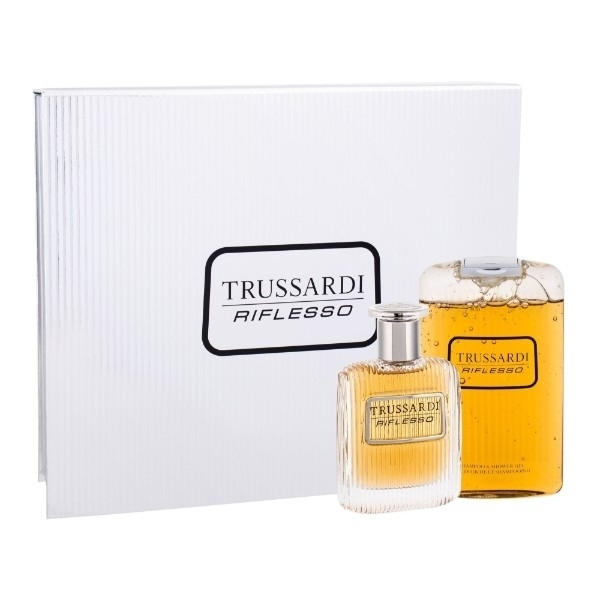 Trussardi Riflesso Eau De Toilette 100ml Combo: Edt 100 Ml + Shower Gel 200 Ml