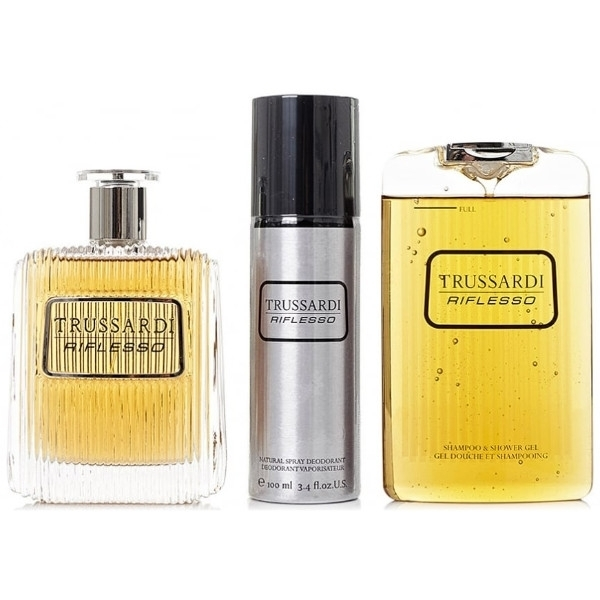 Trussardi Riflesso Eau De Toilette 100ml Combo: Edt 100 Ml + Shower Gel 200 Ml + Deodorant 100 Ml