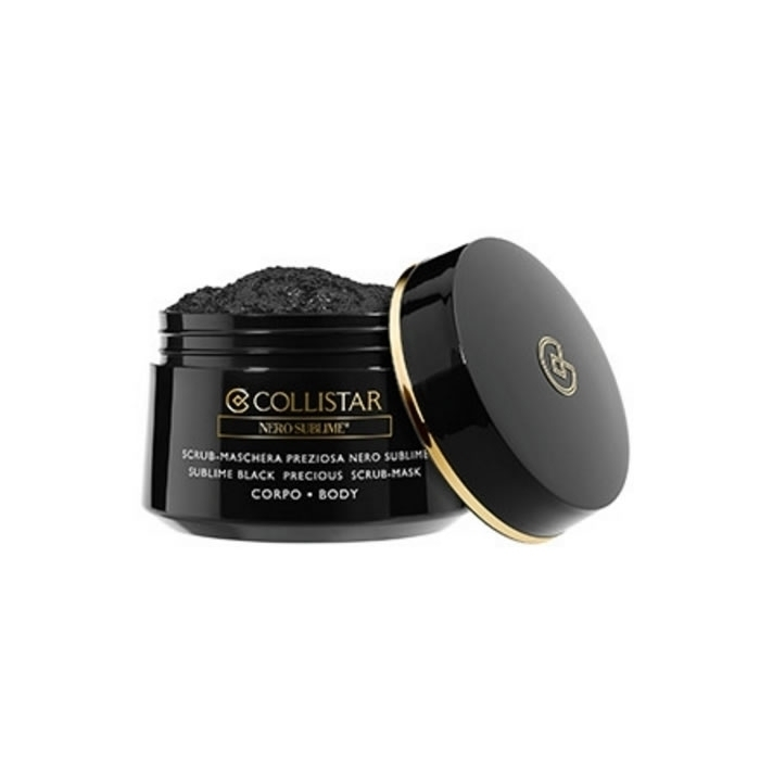 COLLISTAR Sublime Black Precious Scrub-Mask zluszczajaca maska do ciala 450g oμορφια   πρόσωπο   μάσκες ομορφιάς