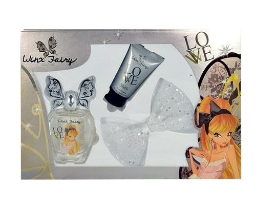 Winx Fairy Couture Stella Eau De Toilette 100ml Combo: Edt 100ml + 75ml Body Lotion + Hair Clip