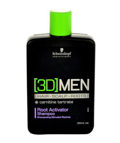 Schwarzkopf 3Dmen Root Activator Shampoo 250ml