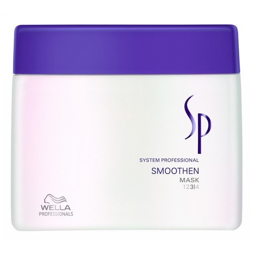 Wella Sp Smoothen Hair Mask 400ml (Unruly Hair)