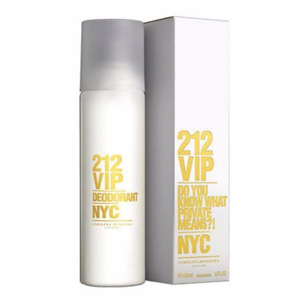 Carolina Herrera 212 Vip Deodorant 150ml (Deo Spray)
