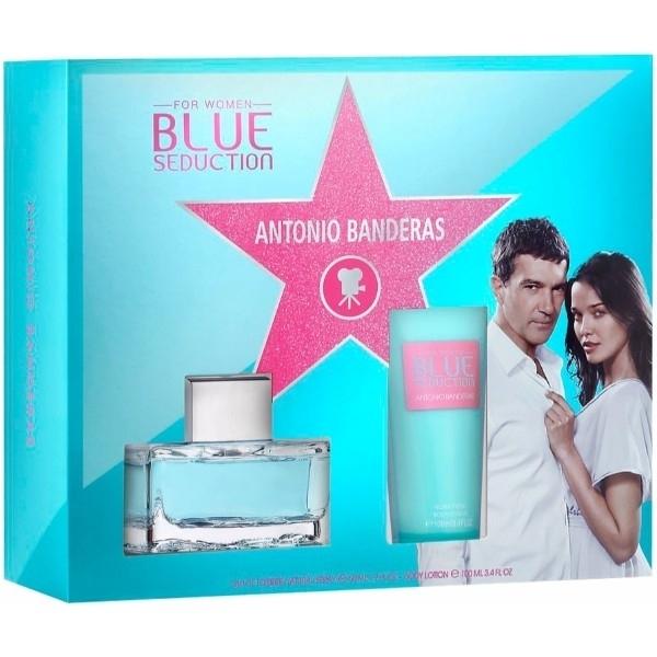 Antonio Banderas Blue Seduction for Women Set Eau de Toilette 50 ml + Body Lotio oμορφια   αρώματα   σετ αρωμάτων