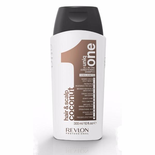 Revlon Professional Uniq One Coconut Shampoo 300ml (All Hair Types)