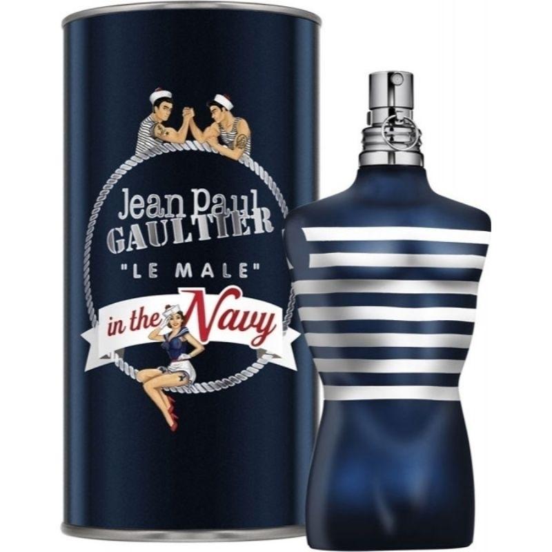 Jean Paul Gaultier Le Male In The Navy Eau De Toilette 125ml