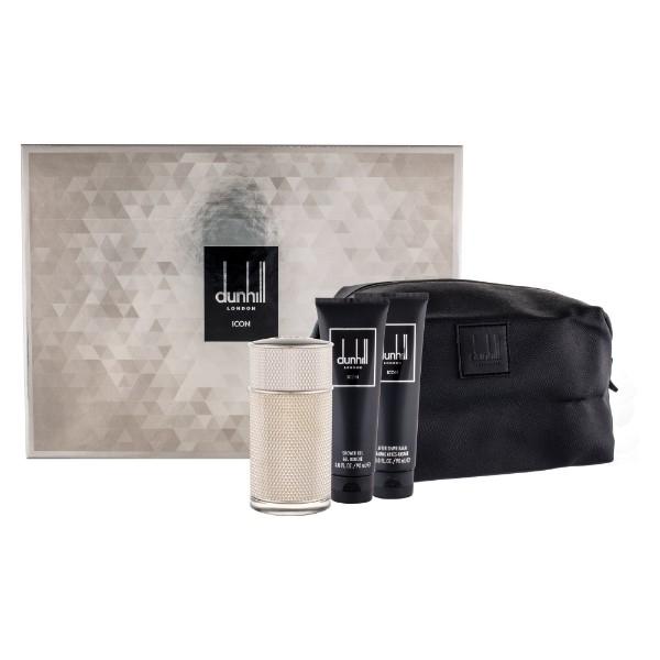 Dunhill Icon Eau De Parfum 100ml Combo: Edp 100 Ml + Shower Gel 90 Ml + Aftersha oμορφια   αρώματα   αρώματα ανδρικά