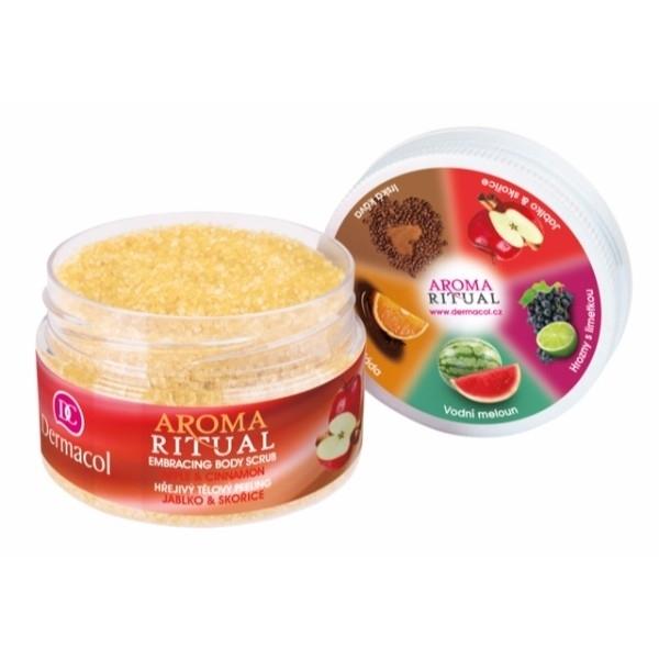 Dermacol Aroma Ritual Apple & Cinnamon Body Peeling 200gr