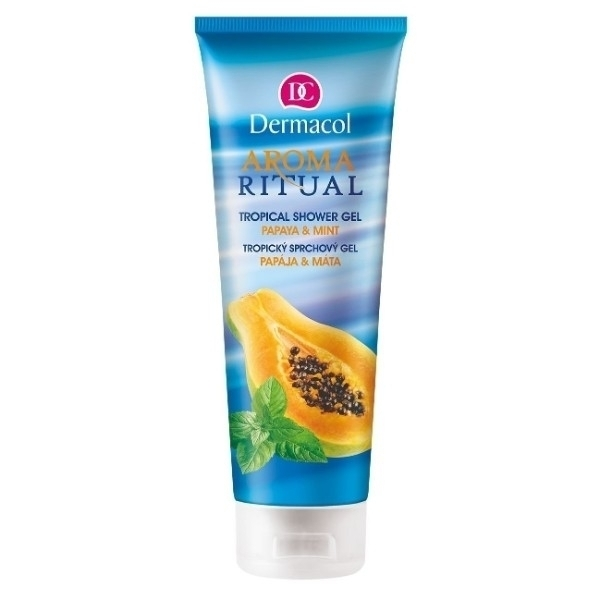 Dermacol Aroma Ritual Papaya & Mint Shower Gel 250ml
