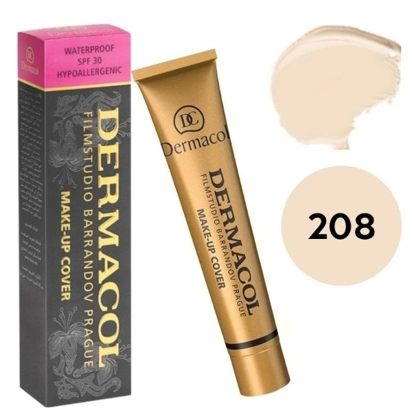 Dermacol Make Up Cover 30ml C. 208