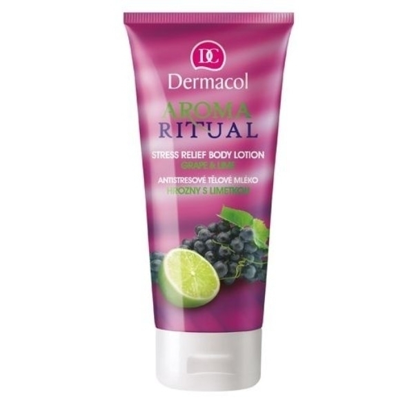 Dermacol Aroma Ritual Body Lotion Grape & Lime 250ml oμορφια   σώμα   κρέμες σώματος