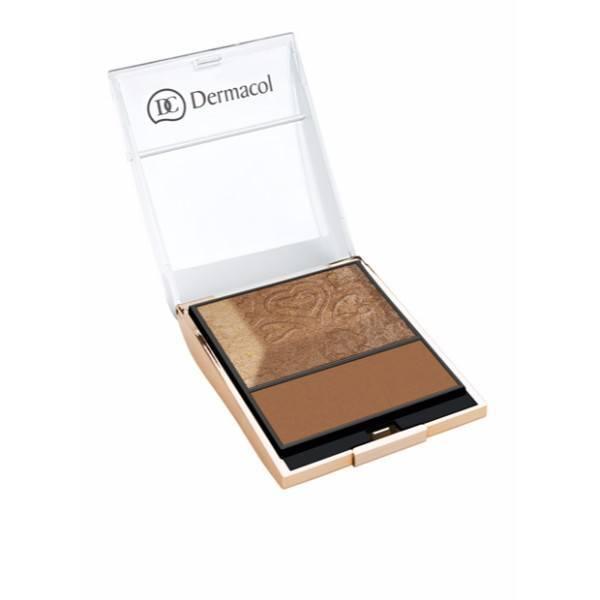Dermacol Bronzing Palette 6gr oμορφια   μακιγιάζ   μακιγιάζ προσώπου   πούδρες προσώπου